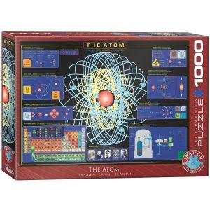 Puzzle Eurographics Átomo de 1000 piezas