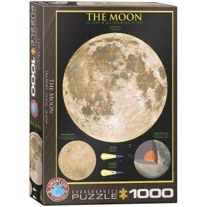 Puzzle Eurographics La Luna de 1000 piezas
