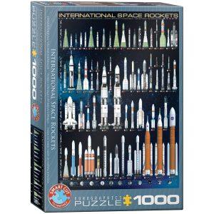 Puzzle Eurographics Cohetes espaciales internacionales de 1000 piezas