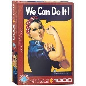 Puzzle Eurographics We can do it de 1000 piezas