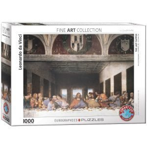 Puzzle Eurographics La última cena Da Vinci de 1000 piezas