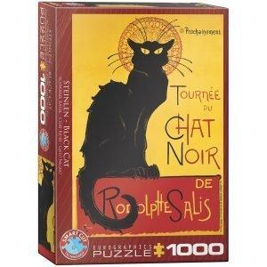 Puzzle Eurographics Chat Noir de 1000 piezas