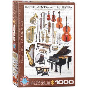Puzzle Eurographics instrumentos orquesta de 1000 piezas