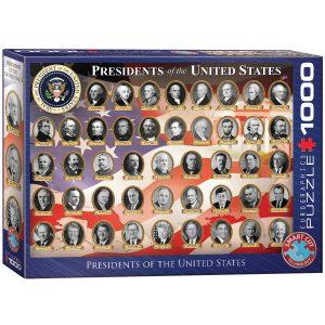 Puzzle Eurographics Presidentes Estados Unidos de 1000 piezas