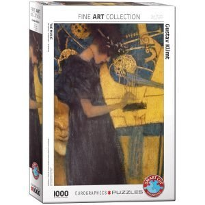 Puzzle Eurographics Musico de Klimt de 1000 piezas