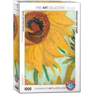 Puzzle Eurographics Los Girasoles de Van Gogh de 1000 piezas