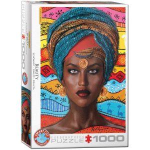 Puzzle Eurographics Beauty de 1000 piezas
