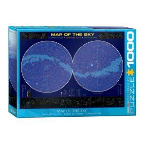 Comprar Puzzle Eurographics Mapa del cielo