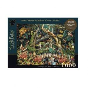 Puzzle Art & Fable Mantis Mundi R.S. Connett de 1000 piezas