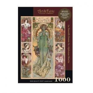 Puzzle Art & Fable Alphonse MUCHA La Nouvelle Femme de 1000 piezas