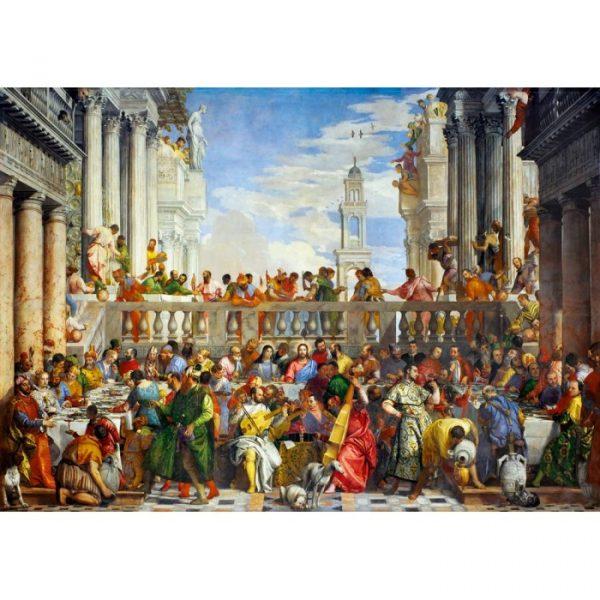 Puzzle Bluebird Las bodas de Caná Paolo Veronese de 1000 piezas