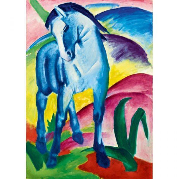 Puzzle Bluebird Franz Marc Blue Horse de 1000 piezas
