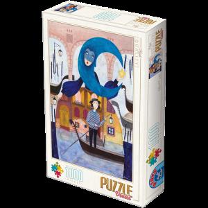 Puzzle DToys Venecia de Andrea Kürti de 1000 piezas