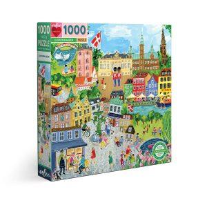 Puzzle eeBoo Copenhague de 1000 piezas