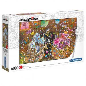 Puzzle Clementoni El Beso Mordillo de 6000 piezas