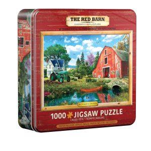 Puzzle Eurographics Granja de Dominic Davison Lata de 1000 piezas