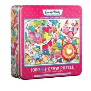 Puzzle Eurographics Cookie Party Lata de 1000 piezas