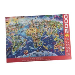 Puzzle Eurographics Segunda Mano Mundo 2000 piezas OUTLET