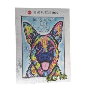 Puzzle Heye Segunda Mano Perro 1000 piezas OUTLET