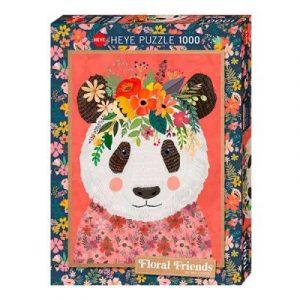 Puzzle Heye Panda Mia Charro de 1000 piezas