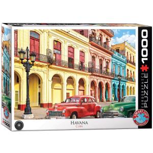 Puzzle Eurographics La Havana Cuba de 1000 piezas