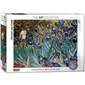 Puzzle Eurographics Iris de Vincent Van Gogh de 1000 piezas