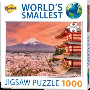 Puzzle Cheatwell Monte Fuji Japón World's Smallest de 1000 piezas