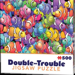 Puzzle Cheatwell Pez globo DOUBLE TROUBLE de 500 piezas