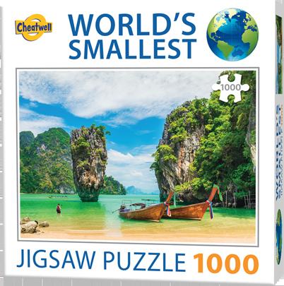 Puzzle Cheatwell Tailandia Phuket World's Smallest de 1000 piezas