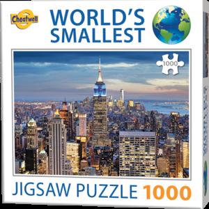 Puzzle Cheatwell Nueva York World's Smallest de 1000 piezas