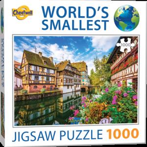Puzzle Cheatwell Estrasburgo World's Smallest de 1000 piezas