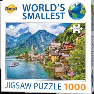 Puzzle Cheatwell Halstatt World's Smallest de 1000 piezas