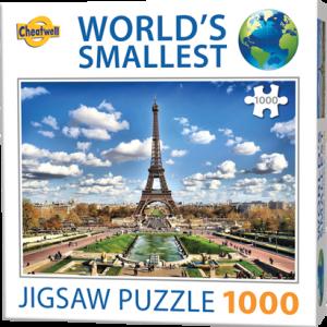 Puzzle Cheatwell Paris Torre Effiel World's Smallest de 1000 piezas
