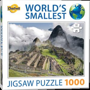 Puzzle Cheatwell Machu Picchu World's Smallest de 1000 piezas