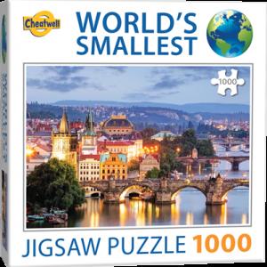 Puzzle Cheatwell Praga World's Smallest de 1000 piezas