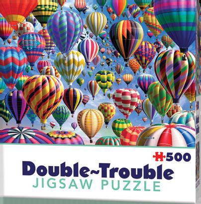 Puzzle Cheatwell Globos DOUBLE TROUBLE de 500 piezas
