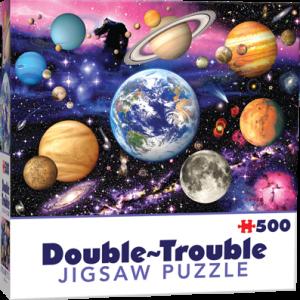 Puzzle Cheatwell Planetas DOUBLE TROUBLE de 500 piezas