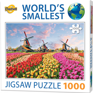 Puzzle Cheatwell Molinos de viento Holanda World's Smallest de 1000 piezas