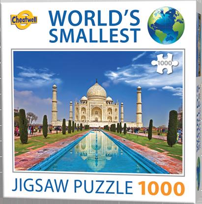Puzzle Cheatwell Taj Mahal World's Smallest de 1000 piezas