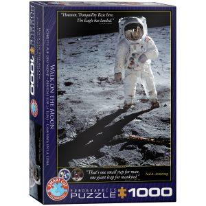 Puzzle Eurographics Caminata en la Luna 1000 piezas