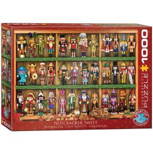 Puzzle Eurographics Cascanueces de Navidad1000 piezas