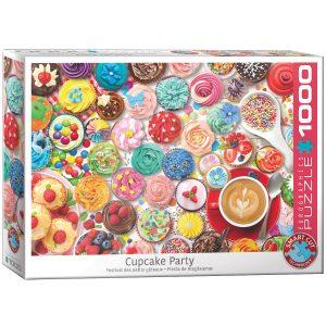 Puzzle Eurographics Cupcakes 1000 piezas