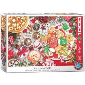 Puzzle Eurographics Mesa de Navidad
