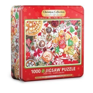 Puzzle Eurographics Mesa de Navidad Lata de 1000 piezas