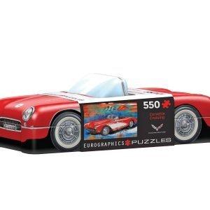 Puzzle Eurographics Corvette Cruising Lata de 1000 piezas