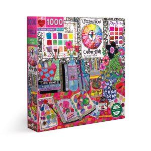 Puzzle eeBoo Estudio de arte de 1000 piezas