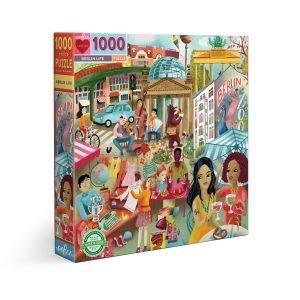 Puzzle eeBoo Berlín de 1000 piezas