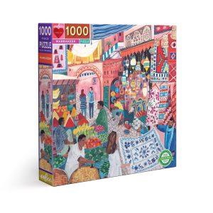 Puzzle eeBoo Marrakesh de 1000 piezas