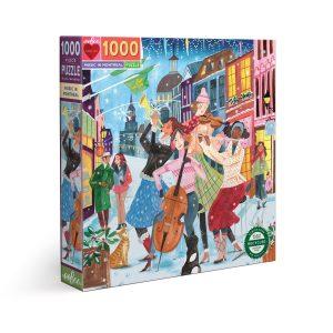 Puzzle eeBoo Montreal Canadá de 1000 piezas