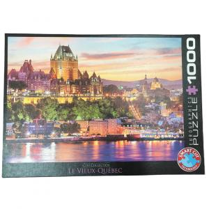 Puzzle Eurographics Le Vieux Québec 1000 piezas - OUTLET